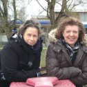 Annemieke van der Velde en Jacqueline Smit
