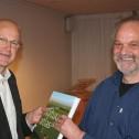 Schrijver Ron van 't Veer en stadsecoloog Jan Heijink
