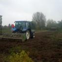 Tractor-spitten